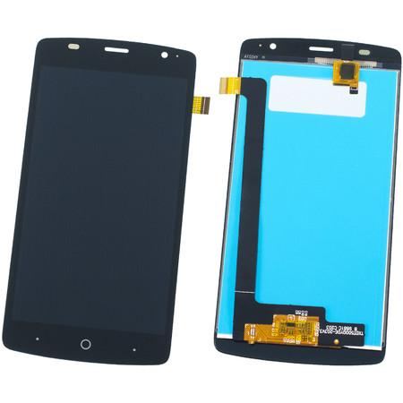Модуль (дисплей + тачскрин) черный для ZTE Blade L5 Plus