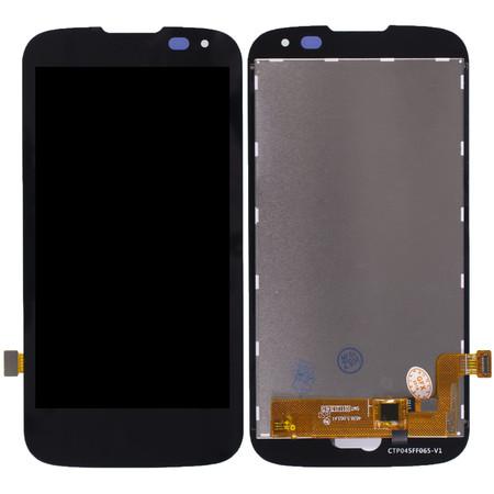 Модуль (дисплей + тачскрин) черный для LG K3 LTE K100DS
