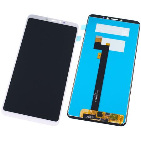 Модуль (дисплей + тачскрин) для Xiaomi Mi Max 3 белый