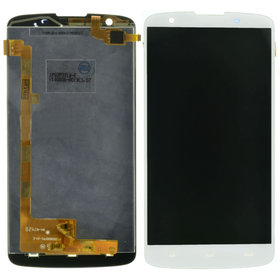 Модуль (дисплей + тачскрин) белый Philips I928