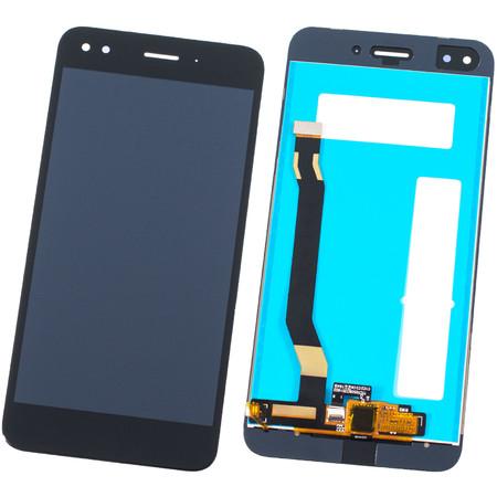 Модуль (дисплей + тачскрин) черный Huawei Nova Lite 2017 (SLA-L22)