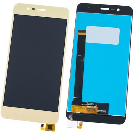Модуль (дисплей + тачскрин) золото ASUS ZenFone 3 Max (ZC520TL) X008D