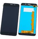 Модуль (дисплей + тачскрин) черный для TP-LINK Neffos C7 (TP910A)