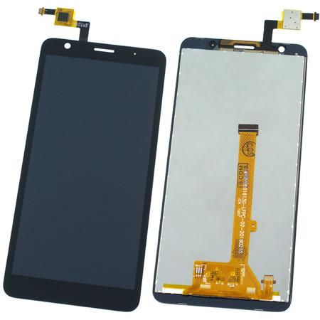 Модуль (дисплей + тачскрин) черный для ZTE Blade L8