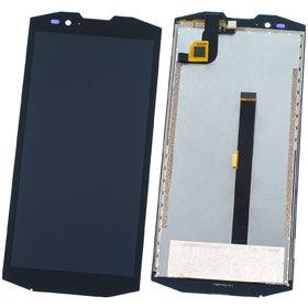 Модуль (дисплей + тачскрин) черный Blackview BV9000