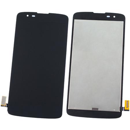 Модуль (дисплей + тачскрин) черный для LG K8 LTE K350E