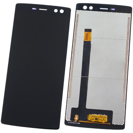 Модуль (дисплей + тачскрин) черный для Doogee BL12000 Pro
