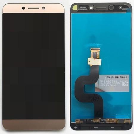 Модуль (дисплей + тачскрин) золото Leagoo T8S