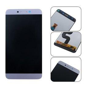 Модуль (дисплей + тачскрин) серебристый Leagoo T8S