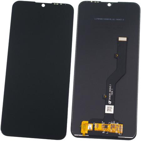 Модуль (дисплей + тачскрин) черный ZTE Blade A7 2020