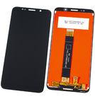 Модуль (дисплей + тачскрин) черный для TP-LINK Neffos C9a (TP706A)