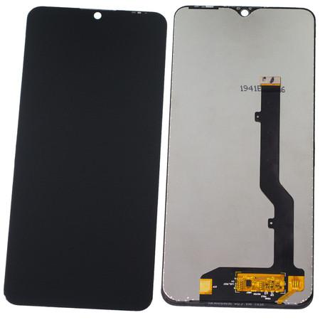 Модуль (дисплей + тачскрин) черный для ZTE Blade 20 Smart