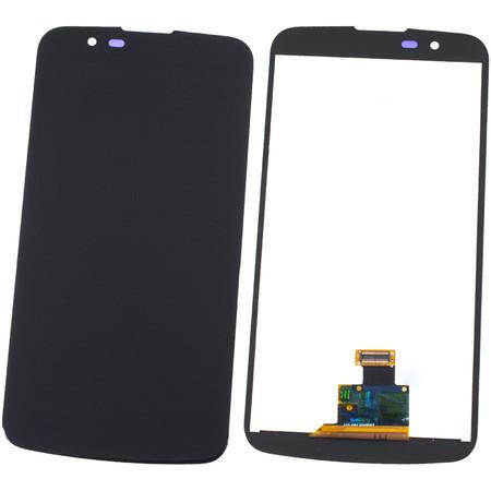 Модуль (дисплей + тачскрин) черный для LG K10 K430N