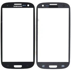 Стекло черный Samsung Galaxy S III (S3) GT-I9305 LTE