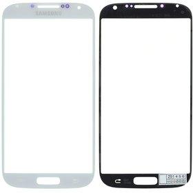 Стекло белый Samsung Galaxy S4 LTE+ GT-I9506