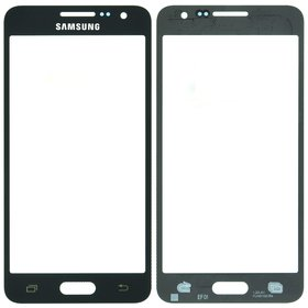 Стекло черный Samsung Galaxy A3 SM-A300F Single Sim