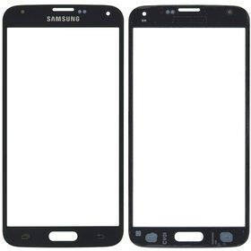 Стекло черный Samsung Galaxy S5 Duos SM-G900FD