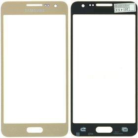 Стекло золотой Samsung Galaxy A3 SM-A300H Single Sim