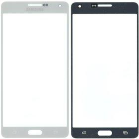 Стекло белый Samsung Galaxy A7 SM-A700H