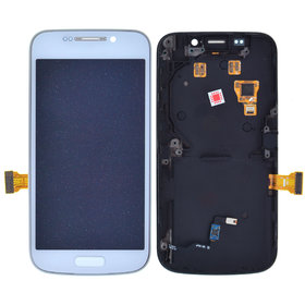 Модуль (дисплей + тачскрин) Samsung Galaxy S4 zoom (SM-C101) с рамкой белый