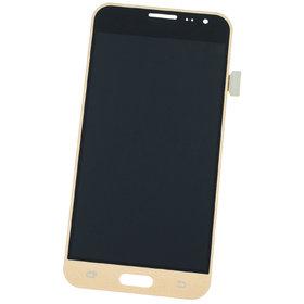 Модуль (дисплей + тачскрин) золотой Samsung Galaxy J3 (2016) SM-J320F/DS