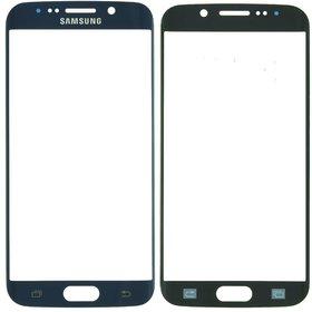 Стекло темно - синий Samsung Galaxy S6 edge (SM-G925F)