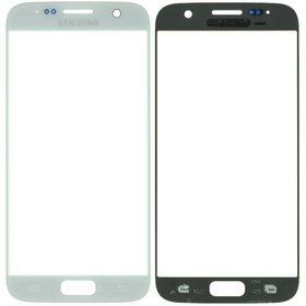Стекло белый Samsung Galaxy S7 (SM-G930FD)
