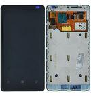 Модуль (дисплей + тачскрин) Nokia Lumia 800 с рамкой (оригинал)