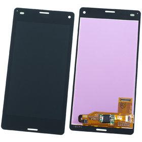 Модуль (дисплей + тачскрин) для Sony Xperia Z3 Compact D5803 черный