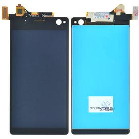 Модуль (дисплей + тачскрин) Sony Xperia C4 Dual (E5333) черный