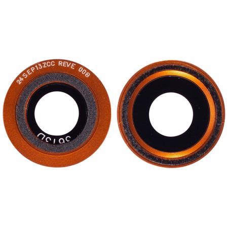 Стекло камеры оранжевый Motorola Moto X Play (XT1562)