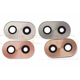 Стекло камеры для Huawei Honor 6X (BLN-L21) серебристый