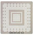 Трафарет G86-631-A2 (8400M GS, 128 bit)