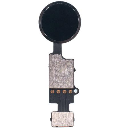 Шлейф / плата на кнопку HOME / черный (Сенсорная без touch ID) Apple iPhone 7 Plus (A1784)