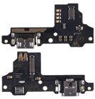 Шлейф / плата ZTE Blade V8 на системный разъем (нижняя плата) / микрофон
