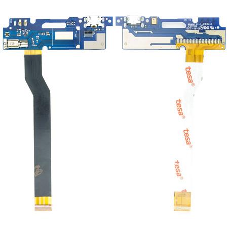 Шлейф / плата ASUS ZenFone 3 Max (ZC520TL) X008D на системный разъем (нижняя плата)