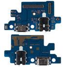 Шлейф / плата Samsung Galaxy A40 SM-A405 на системный разъем (нижняя плата) / Copy