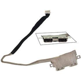 Шлейф / плата на USB для Asus K50ID
