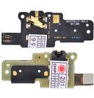 Шлейф / плата Huawei MediaPad X1 7.0 (7D-501L) / SH1S7501LF на аудио разъем