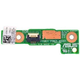 Плата кнопки включения Asus X552LD