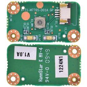 6-71-M770S-D01A Плата кнопки включения