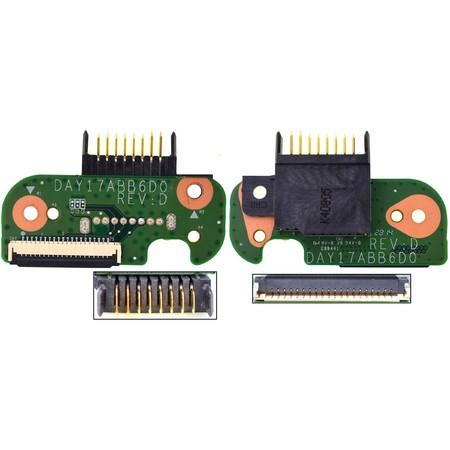 Шлейф / плата на разъем питания батареи HP Pavilion 17-f110nr