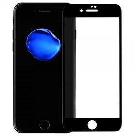 Защитное стекло для Apple iPhone 7 Plus черный (полное покрытие 4D)
