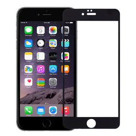 Защитное стекло - Apple iPhone 6 Plus черное П/П 4D