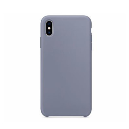 Чехол для Apple iPhone Xs Max Silicone Case сиреневый