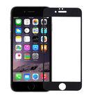 Защитное стекло для Apple iPhone 6 черное П/П 10D