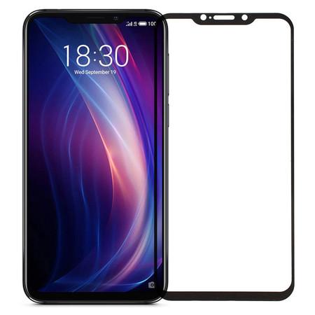 Защитное стекло черное П/П для Meizu X8 (M852H)