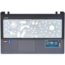 Верхняя часть корпуса ноутбука синий для Asus K55VJ