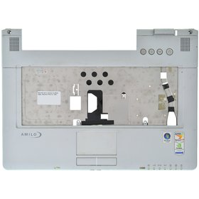 Верхняя часть корпуса ноутбука Fujitsu Siemens Amilo Pa1538 / 24-46436-XX серый
