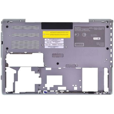 Нижняя часть корпуса (D) для Sony VAIO VPC-SB / 024-600A-8516-A серый